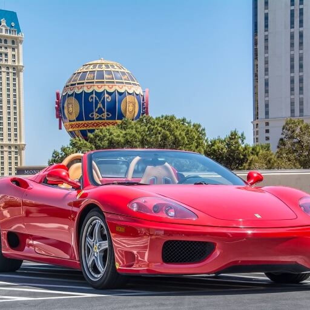 Ferrari Spider For Rent