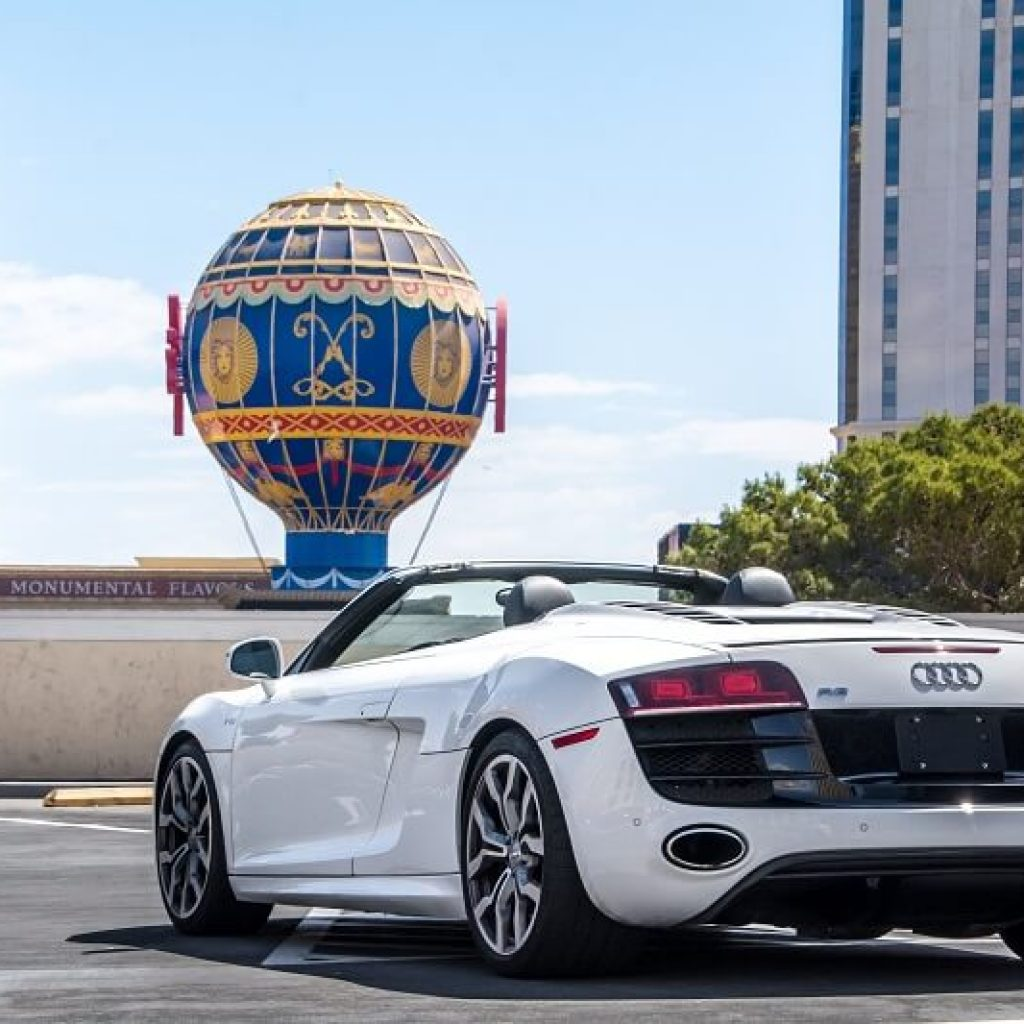 Audi R8 Los angeles rental