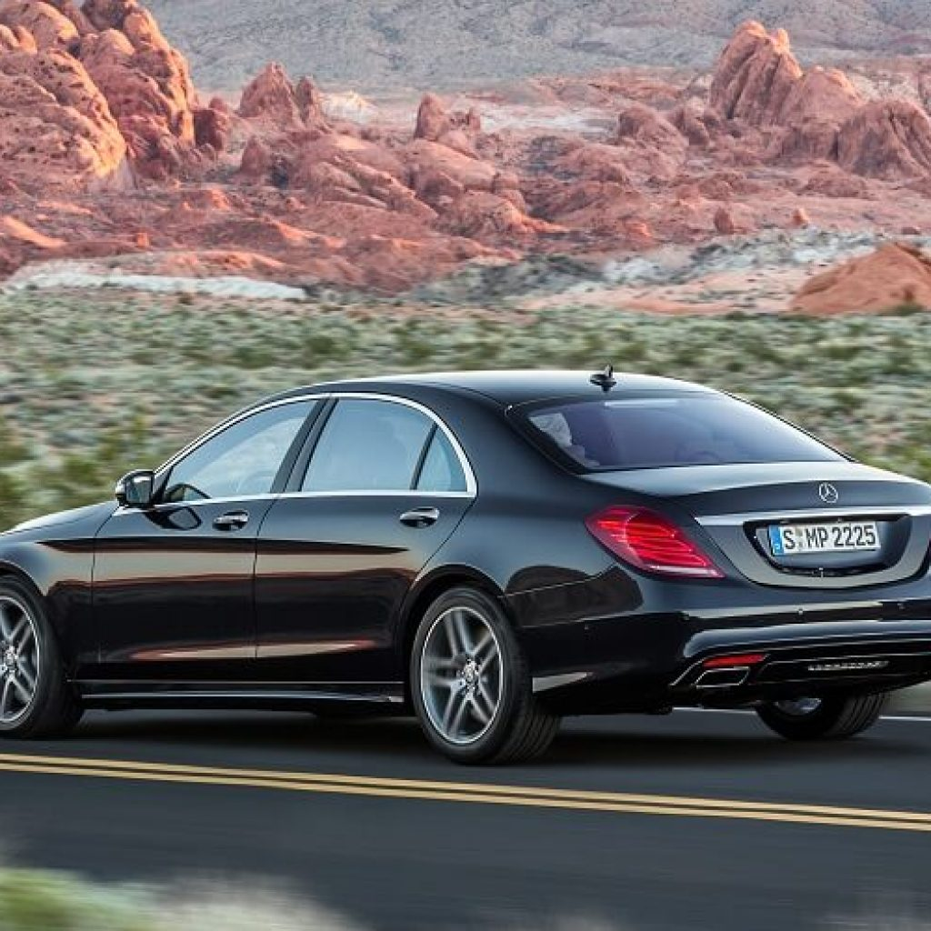 Mercedes-Benz S550 Rental LA