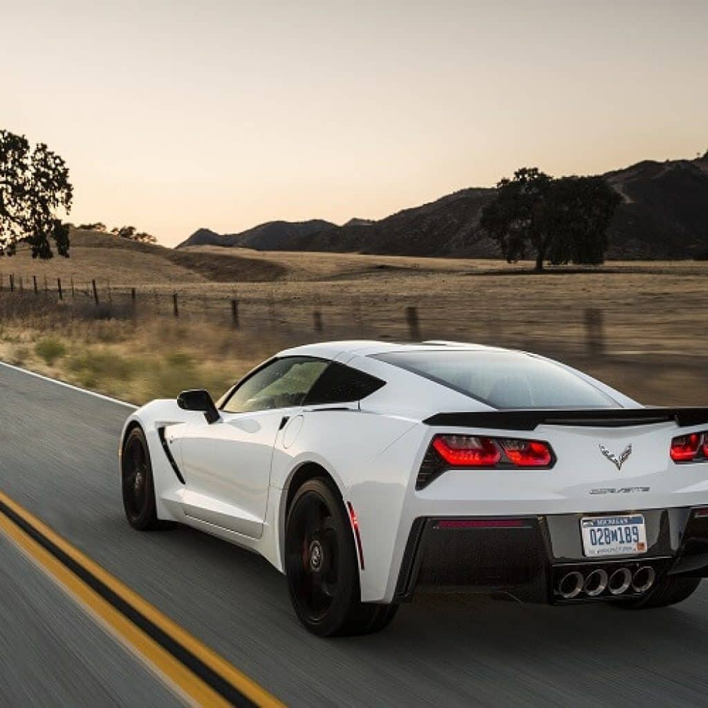 Chevrolet Corvette Stingray Rental Los Angeles