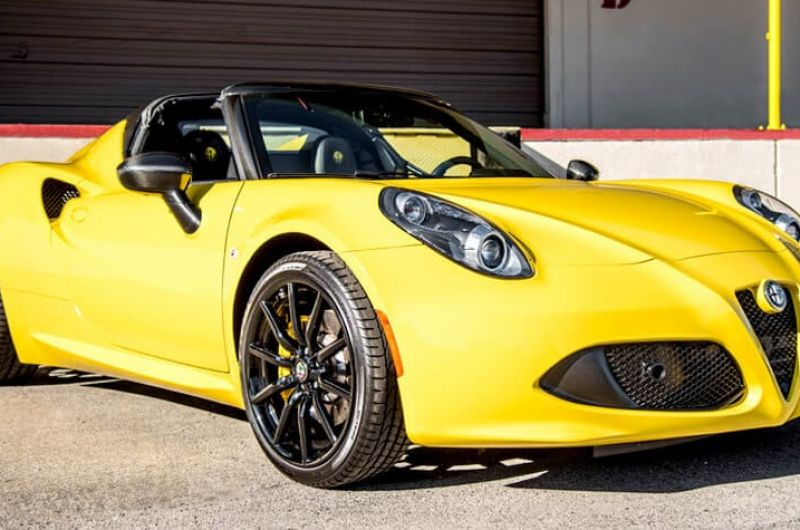 alfa romeo c4 spider rental los angeles la sports exotic cars vegas. Black Bedroom Furniture Sets. Home Design Ideas